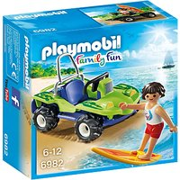 Playmobil Summer Fun Surfer With Beach Quad