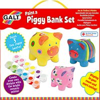 Galt Paint A Piggy Bank Kit