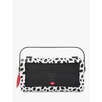 VQ Hepburn Mk II DAB+/FM Bluetooth Digital Radio, Lulu Guinness Design, Black Lips