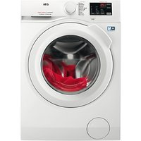 AEG L6FBI841N Freestanding Washing Machine, 8kg Load, A+++ Energy Rating, 1400rpm Spin, White