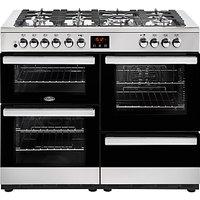 Belling Cookcentre 110DFT Dual Fuel Range Cooker