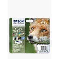 Epson Fox T1285 Inkjet Printer Cartridge Multipack, Pack of 4