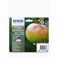 Epson Apple T1295 Inkjet Printer Cartridge Multipack, Pack of 4