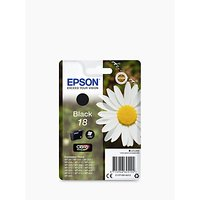 Epson Daisy T1801 Inkjet Printer Cartridge, Black