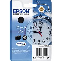 Epson Alarm Clock T2701 Inkjet Printer Cartridge, Black