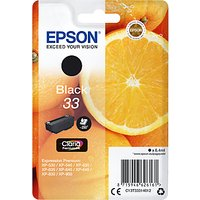Epson Oranges T3331 Inkjet Printer Cartridge, Black