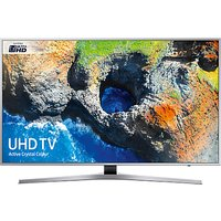 Samsung UE65MU6400 HDR 4K Ultra HD Smart TV, 65 with TVPlus/Freesat HD & Active Crystal Colour, Silver, Ultra HD Certified
