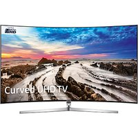 Samsung UE65MU9000 Curved HDR 1000 4K Ultra HD Smart TV, 65 with Freeview HD/Freesat HD, Dynamic Crystal Colour & 360 Design, Silver