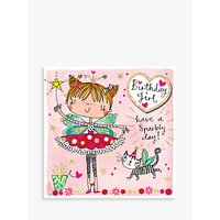 Rachel Ellen Birthday Girl Fairy Birthday Card