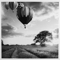 Woodmansterne Hot Air Balloons Greeting Card
