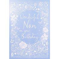 Woodmansterne Floral Nan Birthday Card