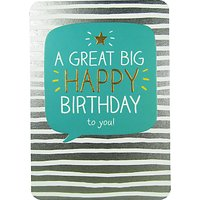 Pigment Great Big Happy Birthday Card