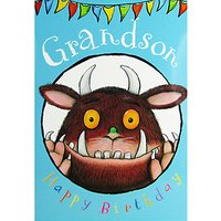 Woodmansterne Gruffalo Grandson Birthday Card