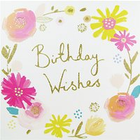 Woodmansterne Birthday Wishes Greeting Card