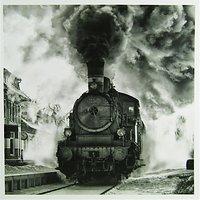 Woodmansterne Steam Train Greeting Card