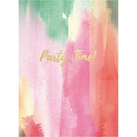 Portico Party Time Birthday Card