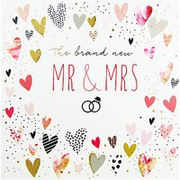 Portfolio Mr & Mrs Wedding Card