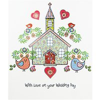 Portfolio With Love On Your Wedding Day Card