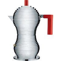 Alessi Pulcina Espresso Maker, 3 Cup, Induction