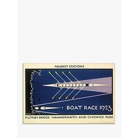 London Transport Museum - Boat Race Print, 30 x 40cm