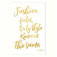 John Lewis Fashion Fades Unframed Print, 30 x 40cm