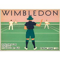 London Transport Museum - Wimbledon Unframed Print, 30 x 40cm