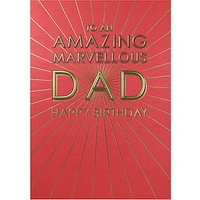 Paperlink Amazing Dad Birthday Card