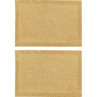 John Lewis Glitter Cotton Placemats, Set of 2