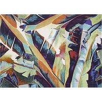 John Lewis Jungle Leaf Cotton Placemat, Multi