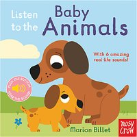 Listen To The Baby Animals Childrens Book