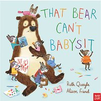 That Bear Can't Babysit Children's Book at John Lewis & Partners Department Store
