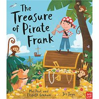 Nosy Crow The Treasure of Pirate Frank Childrens Book