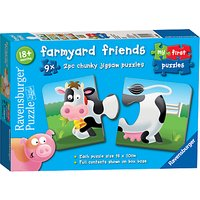 Ravensburger Farmyard Friends Jigsaw Puzzle