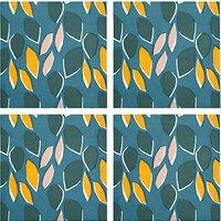 John Lewis Scandi Palm Springs Napkin, Set of 4, Multi