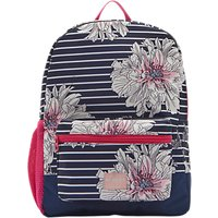 Joules Peony Childrens Rucksack, Blue/White/Pink