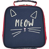 Joules Meow Childrens Lunchbox, Blue