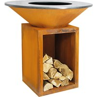 OFYR Classic 100-100 Firepit / BBQ With Storage