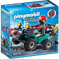 Playmobil City Action Robbers' Quad with Loot