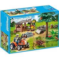Playmobil Country Lumber Yard & Tractor