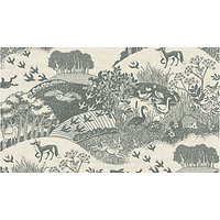 Concord Heartwood Scenic Print Fabric, Grey