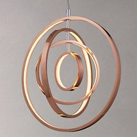 John Lewis Cosmic LED Ceiling Light, Copper