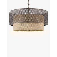John Lewis Meena Fretwork Steel Pendant Light, Large