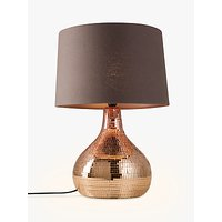 John Lewis Kiera Table Lamp, Copper
