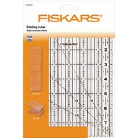 Fiskars Acrylic Folding Ruler, 6 x 24