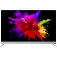 Philips 55POS901 OLED HDR 4K Ultra HD Smart Android TV, 55 with Freeview HD & Ambilight 3 Sided, Chrome