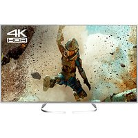 Panasonic 58EX700B LED HDR 4K Ultra HD Smart TV, 58 with Freeview Play, Slim Metallic Bezel & Switch Design Adjustable Stand, Silver, Ultra HD Certified