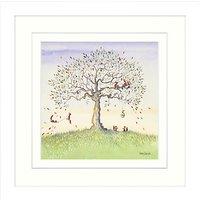 Catherine Stephenson - Squirrel Story 1 Framed Print, 33 x 33cm