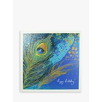 Woodmansterne Feather Birthday Card