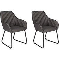John Lewis Brooks Dining Arm Chairs, Set of 2