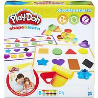 Play-Doh Shape and Learn Colours and Shapes Set